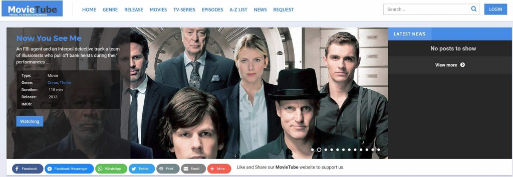Movietube: Watch Full Movies, TV Series Online for Free